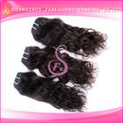 "New Super Grace Natural color 10""-40"" Natural wave 100% brazilian Virgin Human Hair Extension no shedding no tangle"