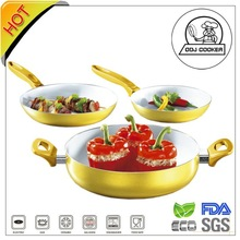 GreenLife Healty FDA&LFGB Ceramic Aluminum Cookware