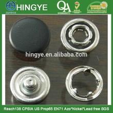 Sprayed Cap Match Fabric Color 4 Parts Prong Snap Button --- SN1412008
