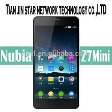 Nubia Z7 Mini 4G mobile phone TD-LTE/TD-LTE/FDD-LTE/TD-SCDMA/WCDMA/CDMA2000/GSM Android 4.4 Quad core 2.0GHz processor