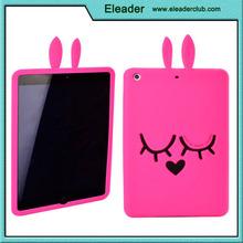 3d silicone cartoon case for ipad mini, for ipad mini cover