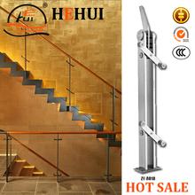 De acero inoxidable o forjado barandilla de hierro para las escaleras ZY-A018