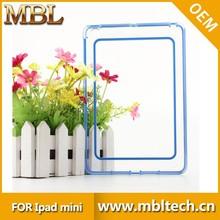 flexible pc silicon case cover for ipad mini, for ipad mini case