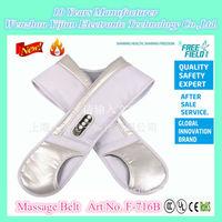 Electric Slimming Massage Belt, Massage Belt, F-716B The Massage Belt with knocking drum rhythms for Neck and Shoulder