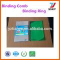 oficina de enlace de suministros 21 anillos de plástico vinculante peine vinculante anillo