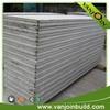 economical modular reinforced concrete bonded particle board houses