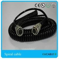 Asphalt paver finisher electrical parts spiral cable