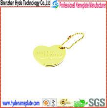 supply high quality fashional glitter metal ornaments