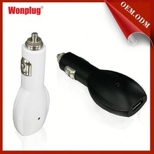 2015 hot selling best quality CE/ROHS approved 2.1 amp usb car charger