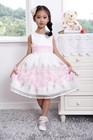 Korean fashion explosion of children without cuff flower Princess Dress