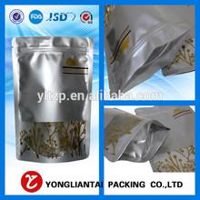 print graphic alumunim foil plastic bag