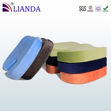 Coccyx Orthopedic Comfort Foam Seat Cushion,Reduces Pressure On The Coccyx Stock Cushion