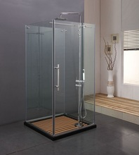 Toughened Glass Cheap Shower Room