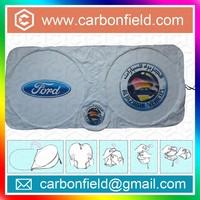 Car Brand printing creative tyvek front car sun shield