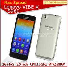 Original Lenovo S960 t MTK6592 Octa Core 1.9Ghz 13.0MP Mobile Phone 2G RAM 16G ROM 5'' IPS Android 4.4 Unlock WCDMA GPS Dual SIM