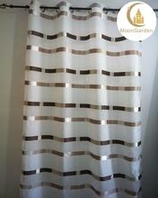 2015 latest curtain design jacquard curtain fabric for curtain