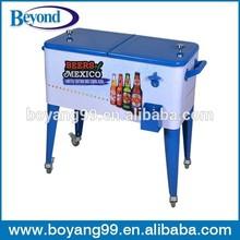patio ice cooler cart