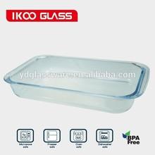 Alta borosilicato vidrio hornear 3.0L