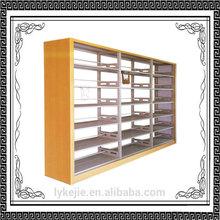 new design China elegant library use small steel bookshelf school furniture metal books shelf Double/Single Bookshelf Backdrop