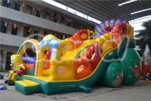 2014 NEW Style Spongebob Inflatable Slide, China Custom inflatable slide