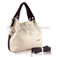 Women Handbag PU Leather bags women messenger bag/ Splice grafting Vintage Shoulder Crossbody Bags JH-BG-132
