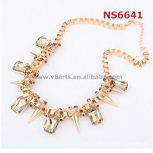 China wholesale wholesale silver jewelry china supplier jewelry gold chain necklace