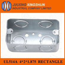 Hot Selling Galvanized Rectangle 4*2 Electrical Metal Enclosure