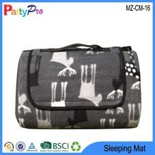 2015 Briefcase Design 130*170cm PEVA Waterproof Anti-slip Camping Warm Blanket Summer Folding Sleeping Mat