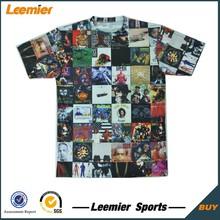 Promotionnelle personnalisée bon marché photo sublimation impression t-shirt