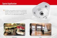 Fisheye IP camera DS-2CD6332FWD-IS Panoramic view sexy video