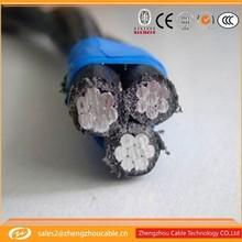 aerial inslated cables voltage 1kv 10kv 35kv triolex aluminum wires