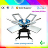 amazing speed and simple operation 8 color screen printing machine for t shirt for sales