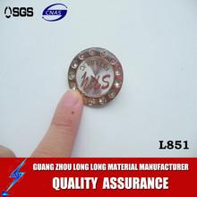alloy metal logo badge