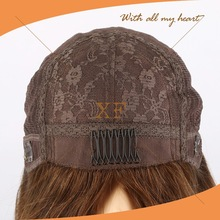 dropship products Wholesale top grade adjustable silk base lace wig cap for jewish wig