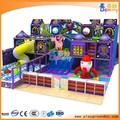 Divertissement drôle thème du château équipements de jeux couverte intérieure jouer terrestres pour enfants