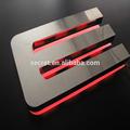 304# personalizado signos de metal con retroiluminación led signos decorativos letras del alfabeto magnético