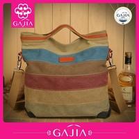 New Model Stylish Wholesale Women handbag Tote Canvas Shoulder Bags