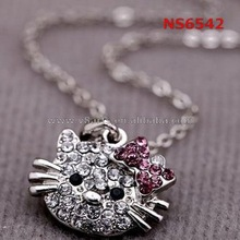China wholesale wholesale fashion jewelry silver necklace hot new products for 2015