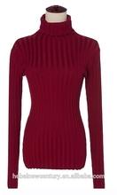 Winter Tight Turtlenecks Ms Render Sweater South Korean Women's Clothing Original Single Knitting Render Unlined Upper Garment