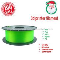 hot sale PETG 3D Printer filament factory price T-glass abs plastic for 3d printer