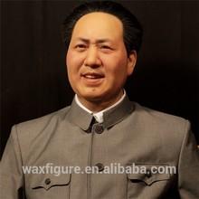 high realistic celebrity chairman mao wax figure
