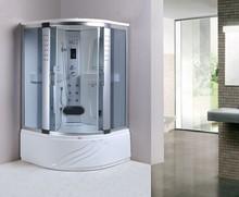 118x118 white ABS backboard fiberglass reinforced heavy steam shower