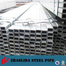 EN10219 gold supplier cs pre-galvanized square steel tube