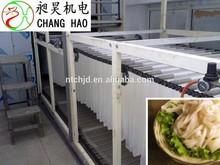 New design flat rice noodle making machine/noodles production process