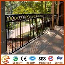 Ornamental cast iron terrace safety handrail aluminum balcony railing designs