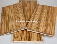 Impressive Strip African zebra solid hardwood flooring
