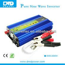 Popular frequency converter 50hz to 60hz 2000w pure sine wave inverter for refrigerator