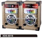 factory wholesales wood box HiFi music speaker