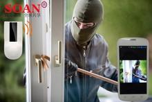 Smart wifi alarm camera hidden invisible camera & PIR sensor and TF card slot