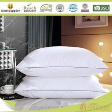 white plain down pillow